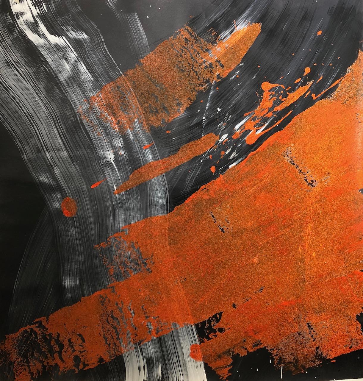 Abstrakt orange