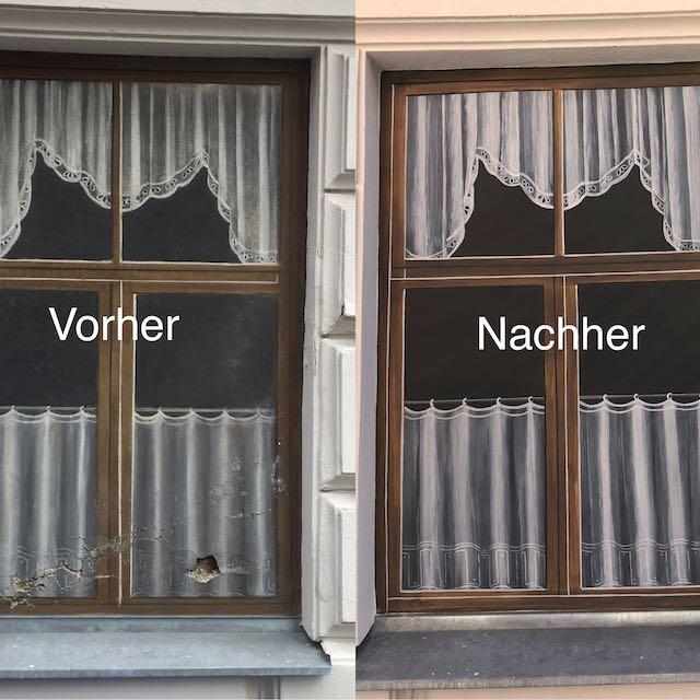 Fenster vorher nachher