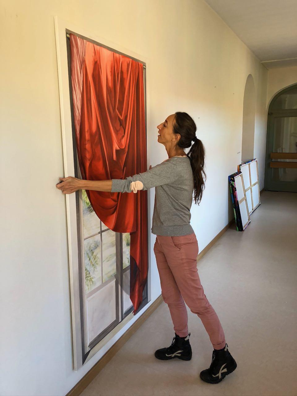 Kunst in Sendling Aufbau
