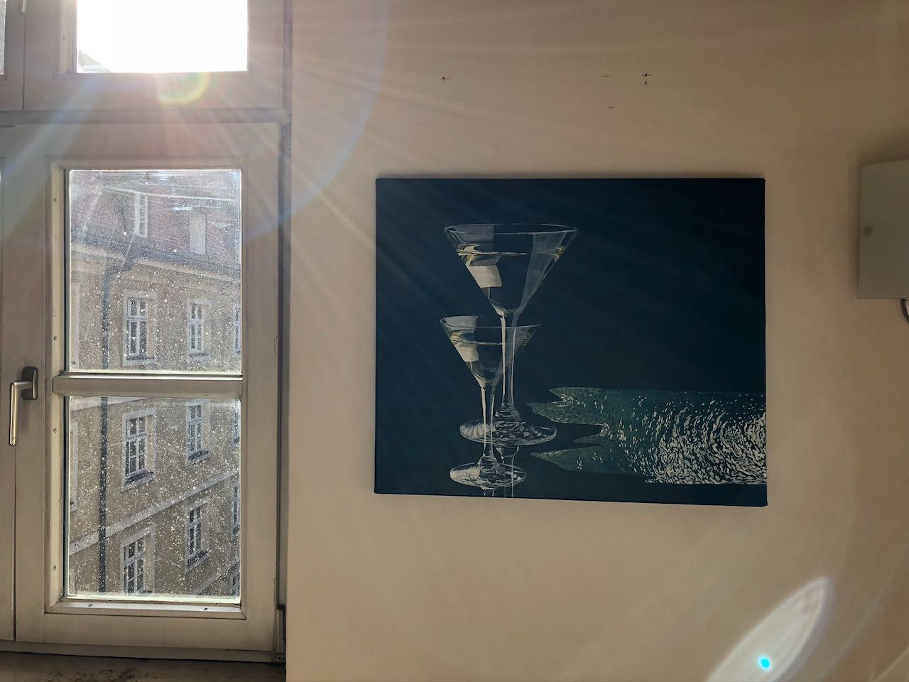 Kunst in Sendling _Gläser