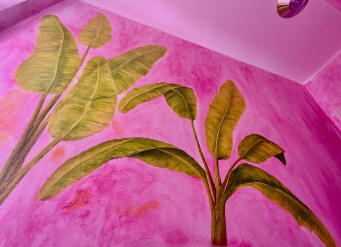 Wandmalerei_Wohnraum_Blätter2